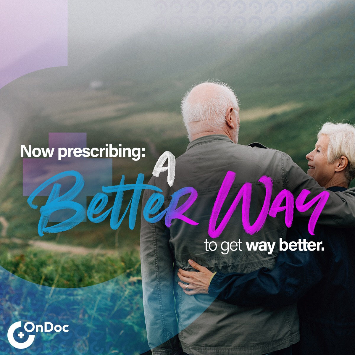 A Better Way to get way better with OnDoc Telemedicine, Teladoc